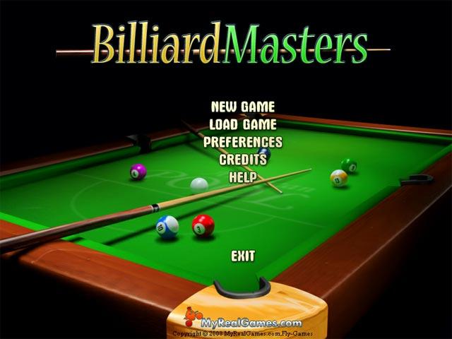 تحميل لعبة Billiard Masters البلياردو الشهير برابط مباشى للكمبيوتر