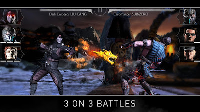 Tampilan Game MORTAL KOMBAT X
