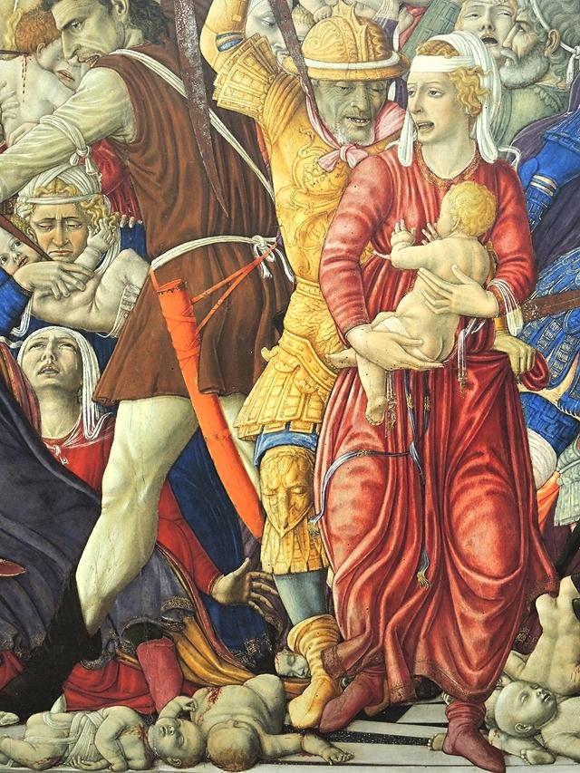 detail uit een werk van Matteo Di Giovanni