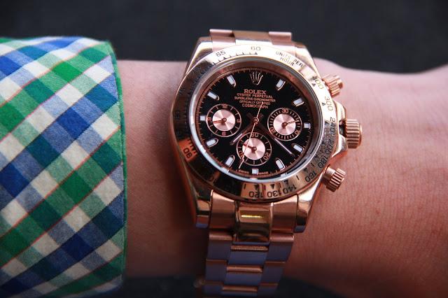 Đồng hồ rolex mạ đồng