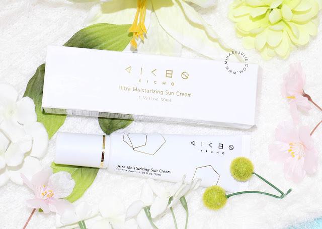 review KICHO Ultra Moisturizing Sun Cream