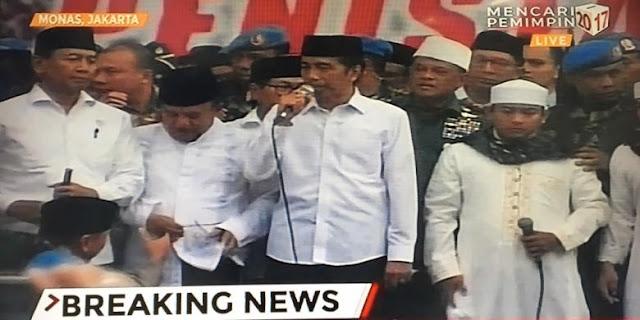 Alumni 212: Kalau Pak Jokowi Pro Umat Islam, Pasti Kami Bersedia Memilihnya