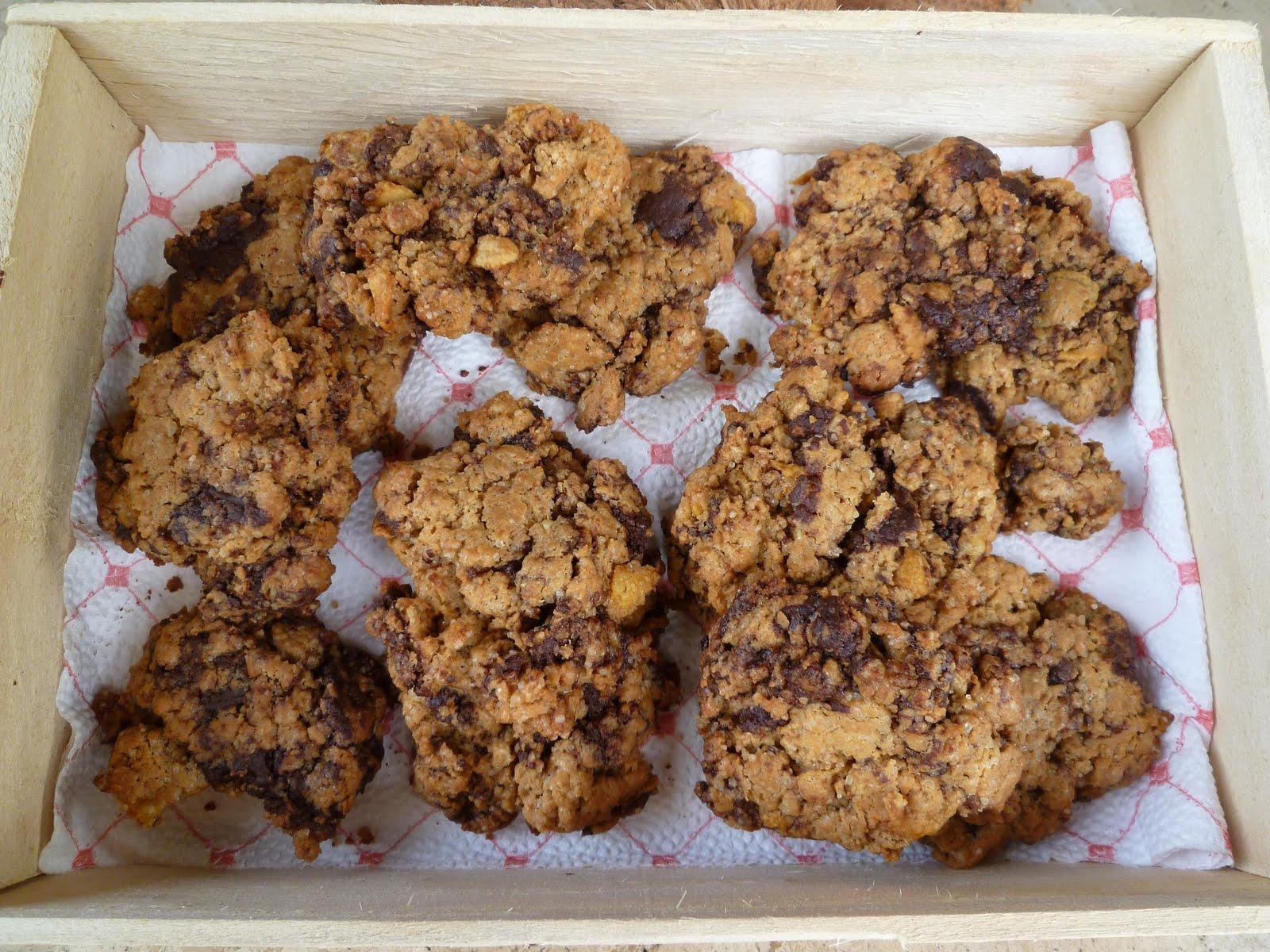 saveurs et exp riences cookies au beurre de pistache et chocolat noir. Black Bedroom Furniture Sets. Home Design Ideas