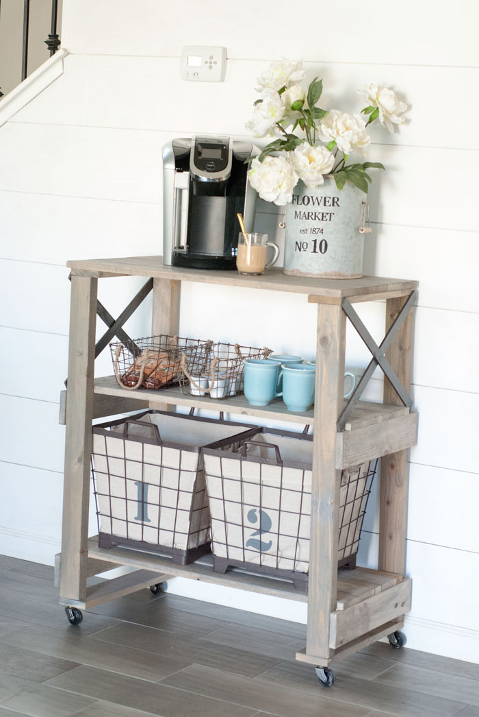 One Room Challenge Coffee Station Styling Lemons