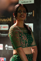 Nandita Swetha in a tight Green Choli Ghagra at IIFA Utsavam Awards March 2017 ~ 050.JPG