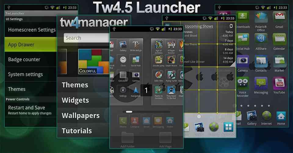 Install samsung galaxy s9 touchwiz launcher apk on all samsung.