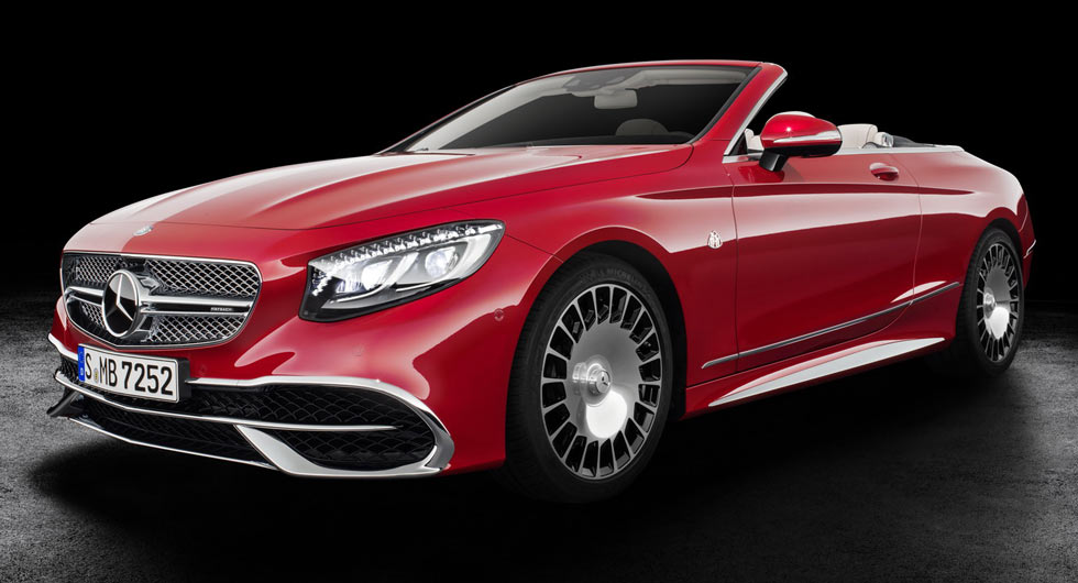 Mercedes maybach s650 cabriolet is firm 39 s most luxurious for Mercedes benz drop top