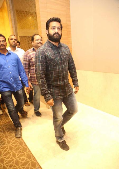 NTR at ISM Telugu Movie Audio Launch Photos