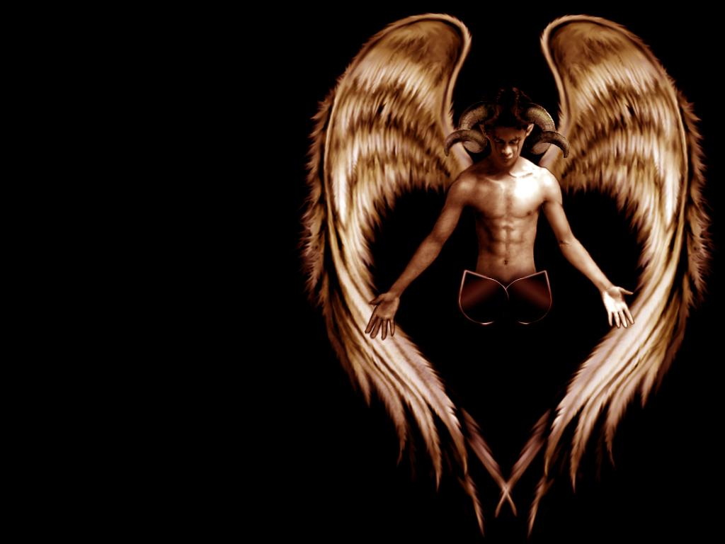 scary image of angel - photo #32