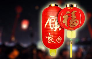 Faroles rojos Chinos