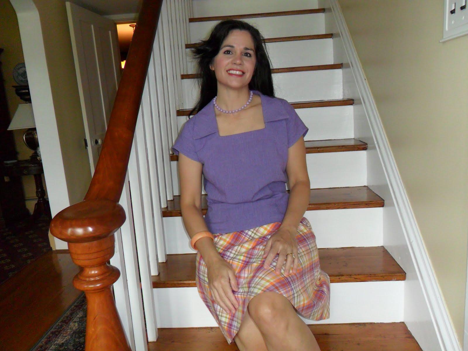 Vintage Girl: 40's blouse