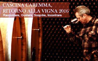 Cascina Caremma  celebra il vino e i vignaioli con la nuova edizione di  ritorno alla vigna 2016 Tutti i giovedì di Ottobre e Novembre