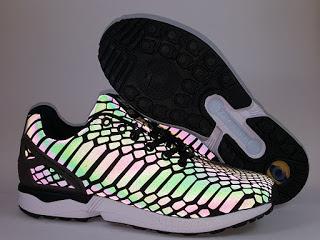 Adidas ZX Flux Xeno Reflective Sepatu Running  Premium,jual sepatu running , toko sepatu running, sepatu lari premium, harga adidas zx flux ,zx flux xeno, glow in the dark, reflective