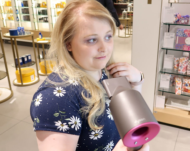 Danielle Levy, John Lewis, Dyson, Dyson Hairdryer, John Lewis Liverpool, Liverpool blogger, Beauty Blogger,