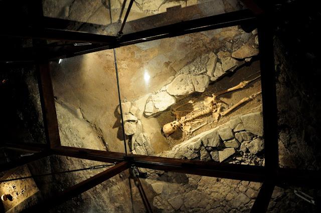 Mikulcice, wielkomorawskie cmentarzysko