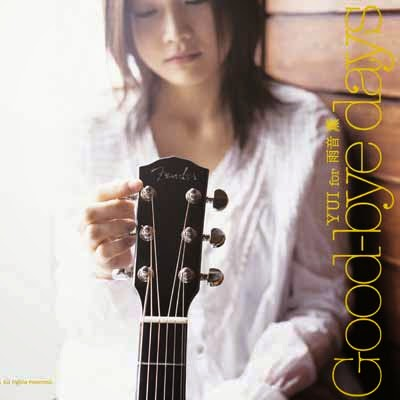 Easy Guitar Chords Love Song kunci gitaran Dasar Lagu Jepang yg mudah chordnya YUI Yoshioka - Goodbye Days Acoustic Cover - OST Taiyou No Uta (Japan Movie/Drama) romaji songs lyrics