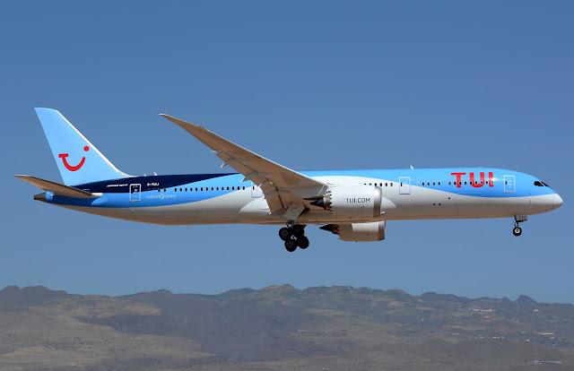 boeing 787-9 thomson airways