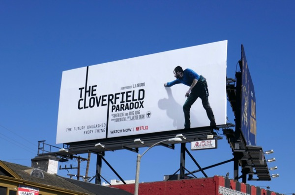 Cloverfield Paradox Chris O'Dowd billboard