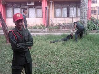Komandan Latihan   Komandan Menwa   Komandan Resimen Mahasiswa Batalyon 027/BS Universitas Borobudur   Universitas Borobudur