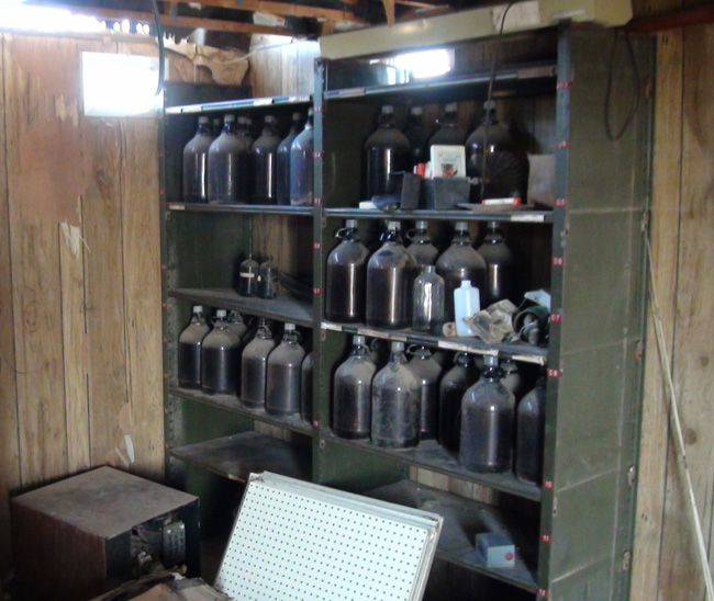 Bottle Stash in Cisco Utah ghost town