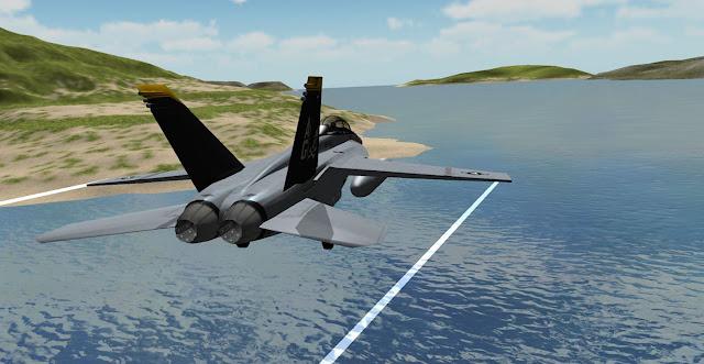 F18 Airplane Simulator 3D