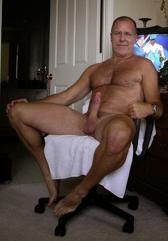 Nude gay dad