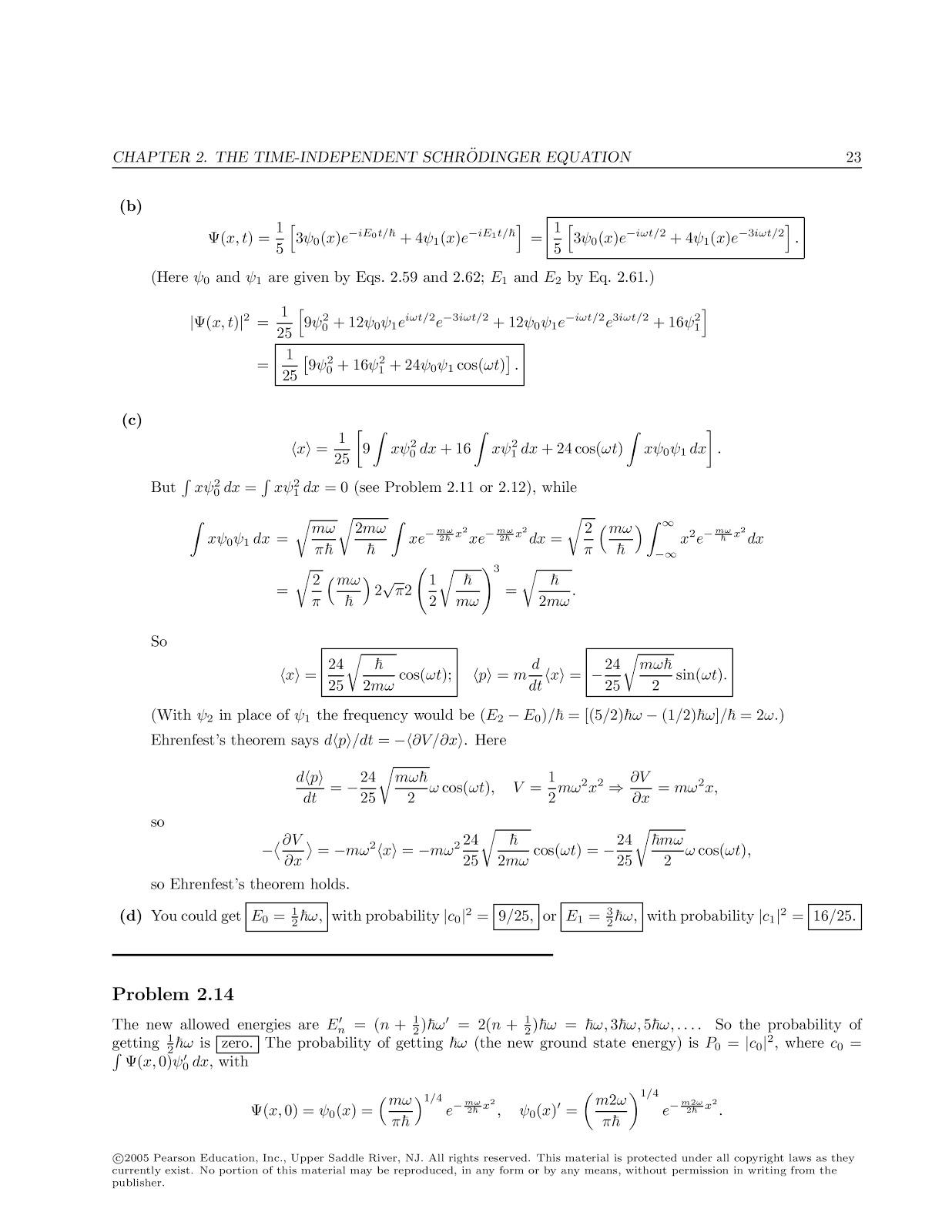 Introduction To Quantum Mechanics griffiths solution Manual Pdf