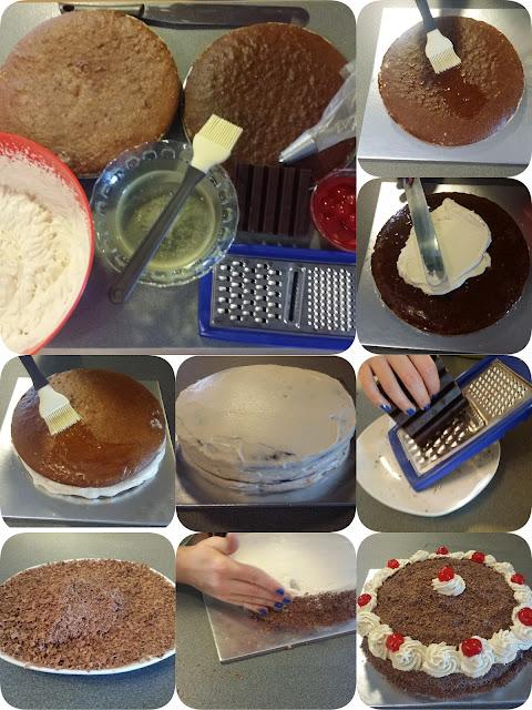 relleno de tarta SELVA NEGRA