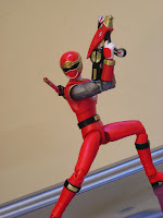 SH Figuarts Hurricane Red Hurricaneger Power Rangers Ninja Storm Bandai Tamashii Nations