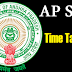 AP SSC Time Table 2017 hall tickets  – AP 10th Class Exam Schedule