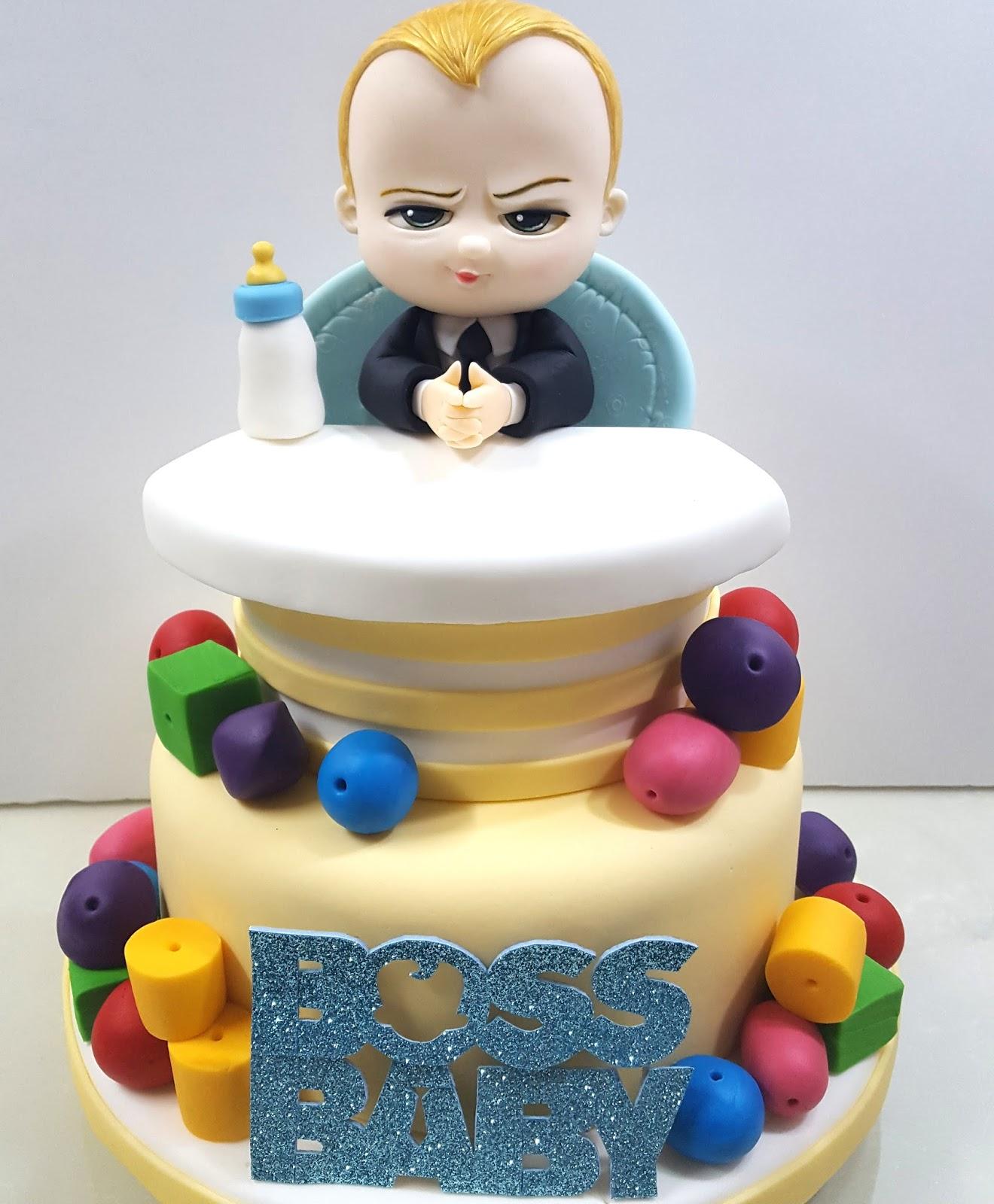 The Boss Baby Cake