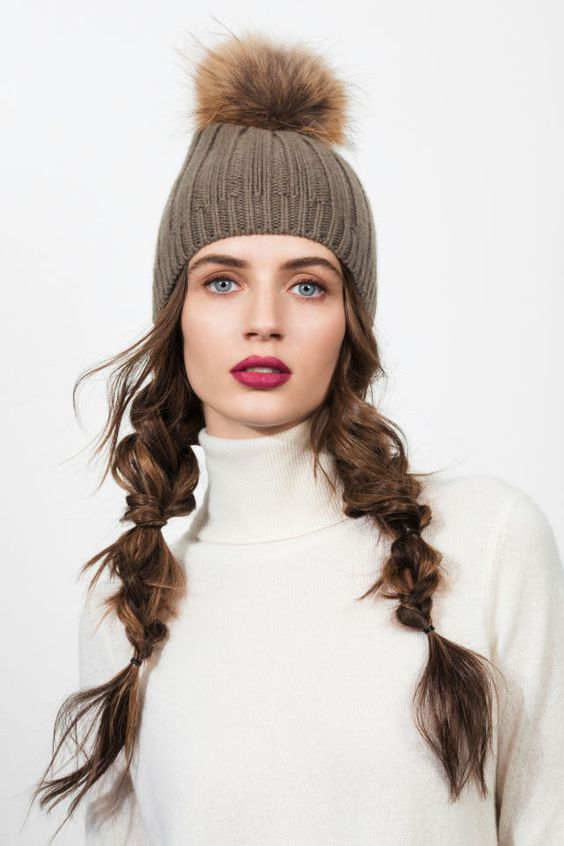 5 Times Hat Hair Looked Totally Chic