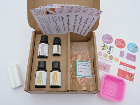 Simply Earth January Essential Oil Recipe Box