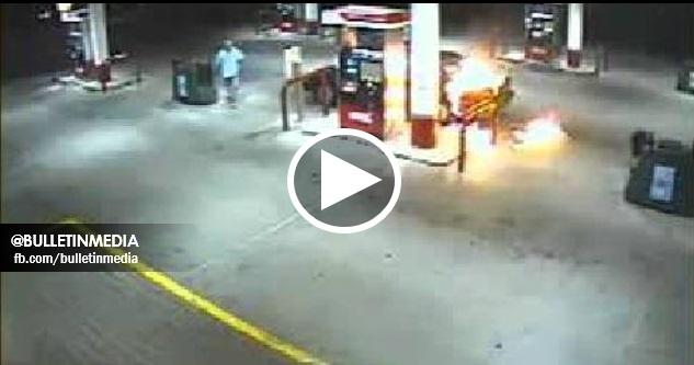 [VIDEO] Bahaya Guna Tetefon Bimbit Di Stesen Minyak. Harap Anda Semua Lebih Berhati-Hati!! MOHON SEBARKAN!!