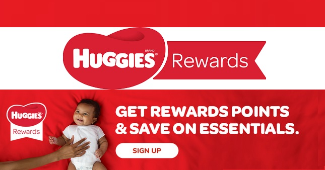 Huggies Rewards, Coupons, Offers and More sign up