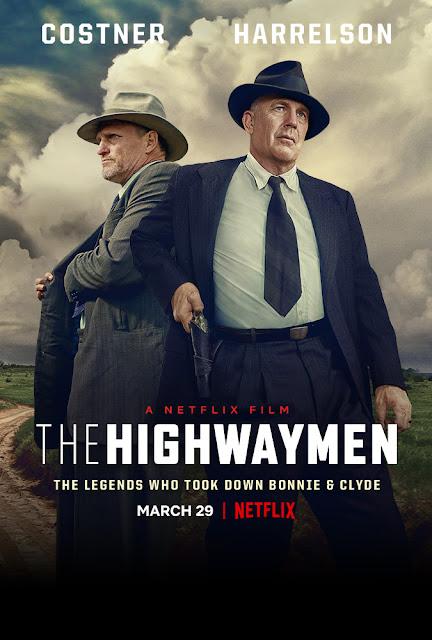 The Highwaymen 2019 Netflix movie poster