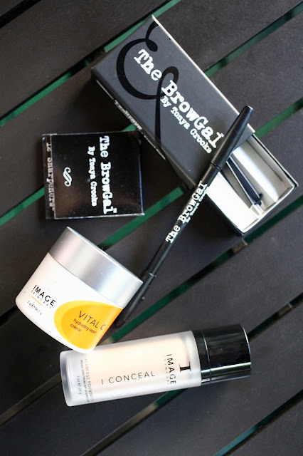 The BrowGal products and Image Skincare
