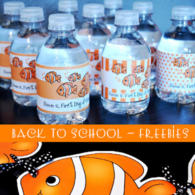 FREE Nemo Inspired Back to School Party Printables