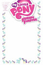 My Little Pony Friends Forever #1 Comic Cover Blank Variant