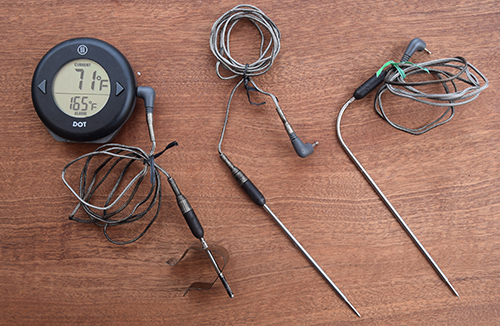 Thermoworks DOT is a simple, accurate, and reliable remote probe thermometer.