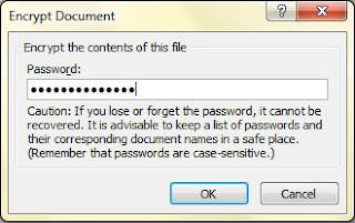 Cara Mudah Mengunci / Memberi password MS Word dan Excel Tanpa Aplikasi Lain