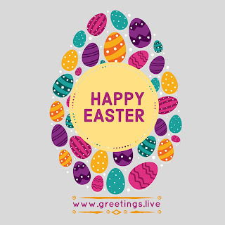 Happy Easter Eggs Greetings Latest HD Quality Image