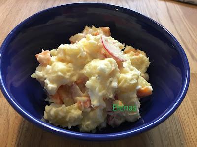 Koreansk potatissallad