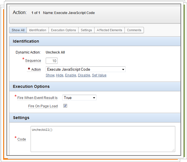 Uncheck All Checkbox on Page Load for Apex Page Using Javascript