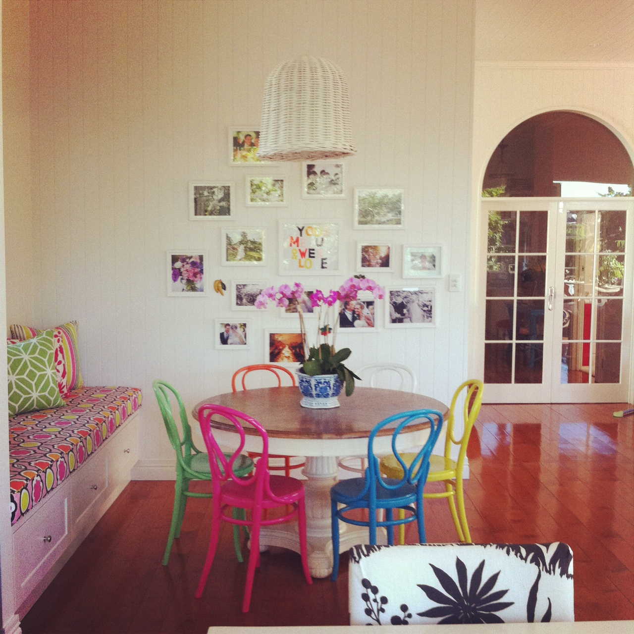 Colorful Mismatched Room: Absolutely Beautiful Things: May 2012