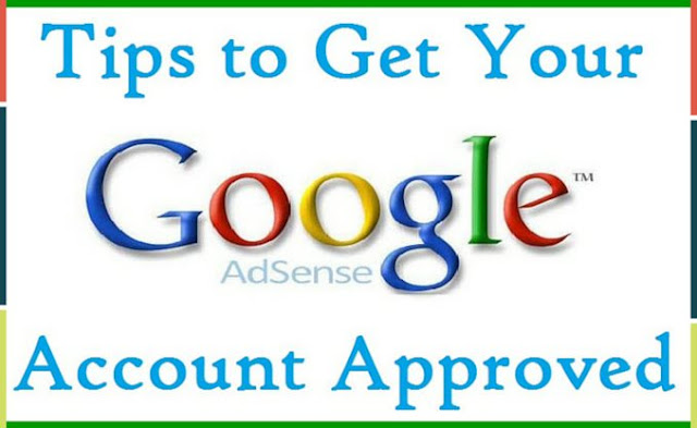adsense application.
