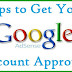 Why your site does not accept Adsense Approval Application