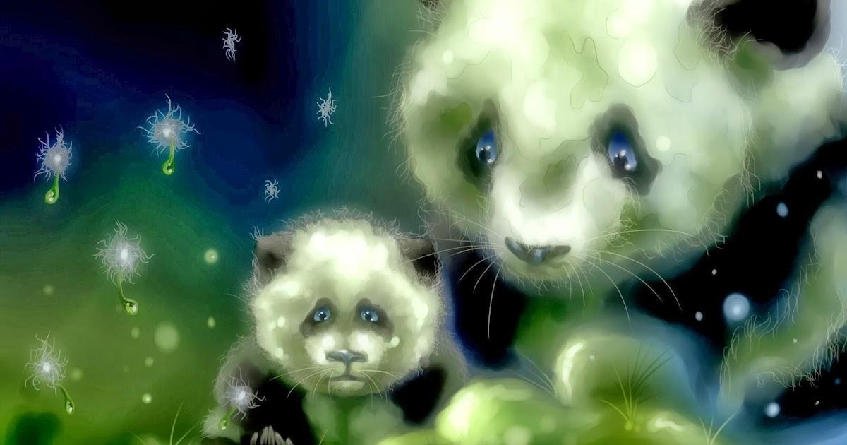 Imágenes De Animales En Hd Para Fondo De Pantalla: Fondo De Pantalla Animales Oso Panda Pareja