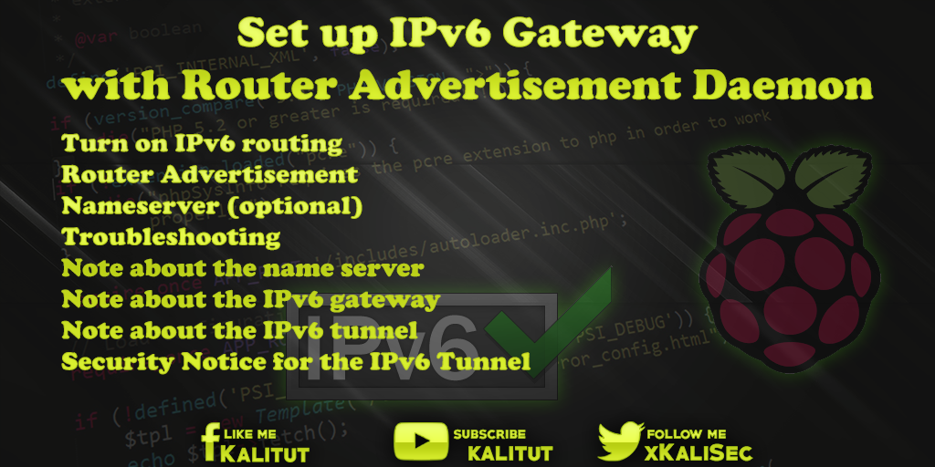 IPv6-Gateway-Router-Advertisement