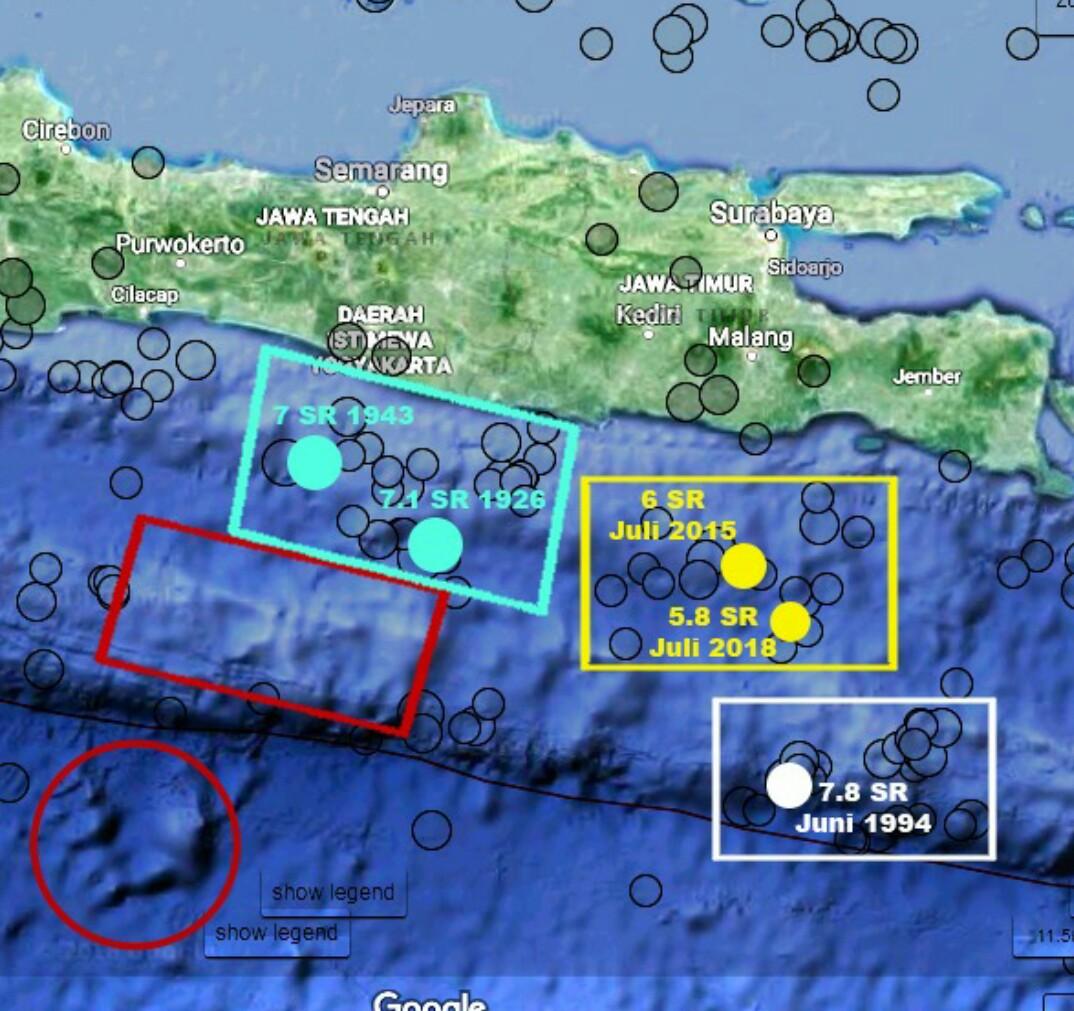 Potensi Tsunami Jawa Tengah